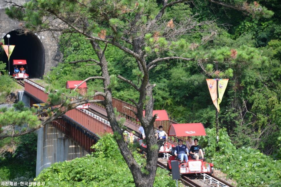 Gangwon Province: Gangchon Rail Park