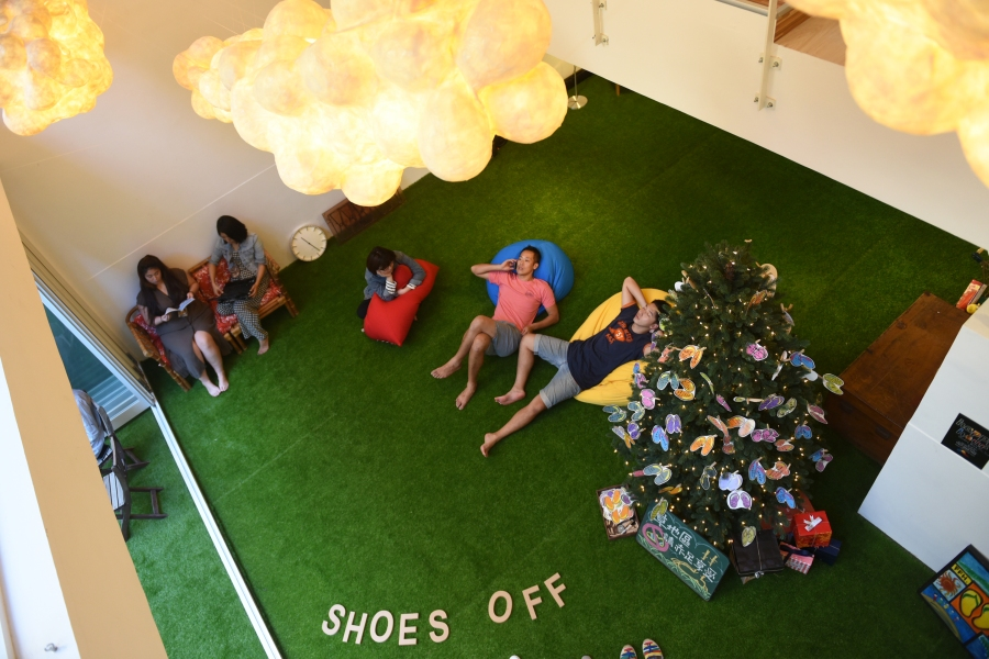 Flip Flop Hostel: Common Area