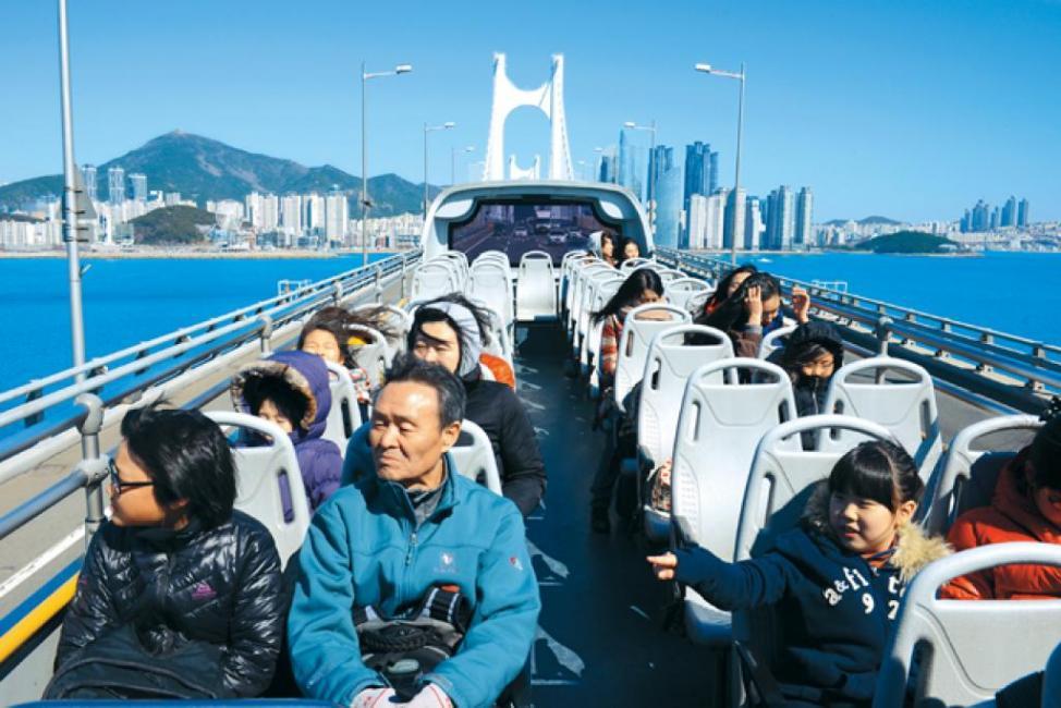 Busan, Korea: City Bus Tour with the Family