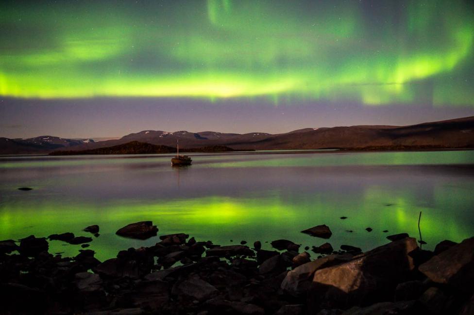 Abisko, Sweden: Aurora Borealis