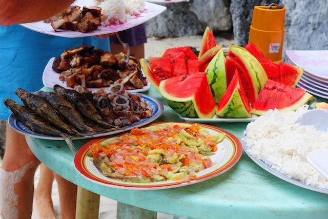 El Nido, Palawan: Fresh Seafood