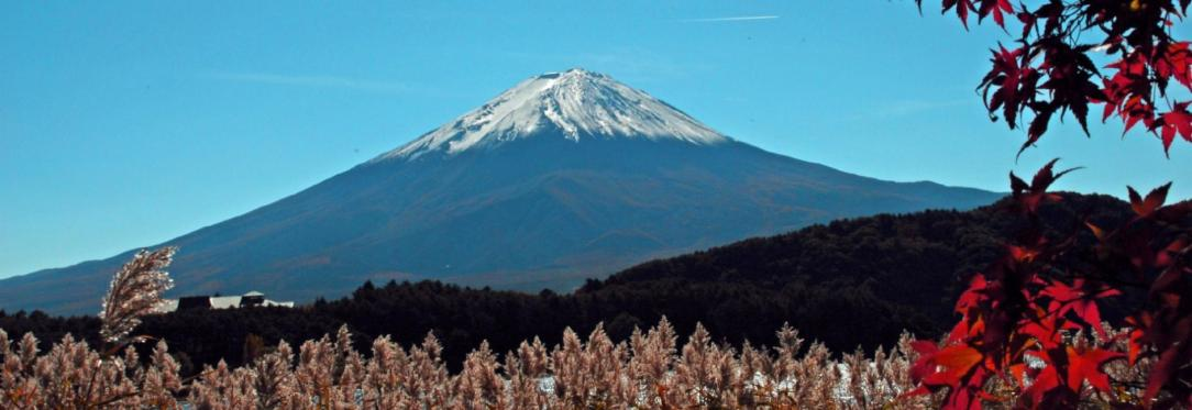 Mt. Fuji in Falll